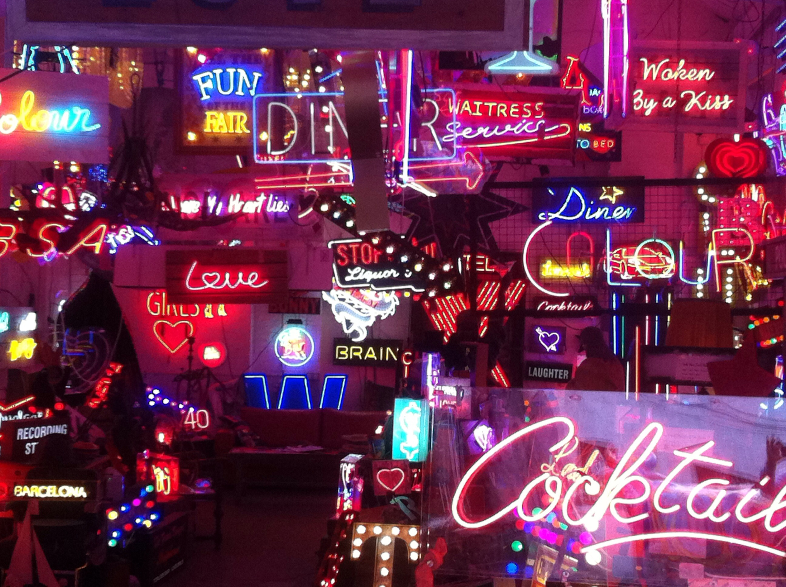Neon Workshop, North London